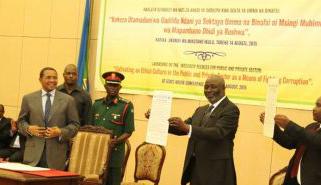 Kikwete signs three integrity pledges